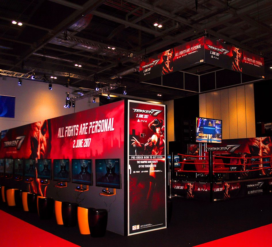 Sublime Promotions Lime Communications Events Agency London Soho Bandai Namco Entertainment MCM Comic Con Excel London Cosplay Gaming Games Experiential Live Events Agency Film Studio Advertising Events Interactive Experience Experiential Branding