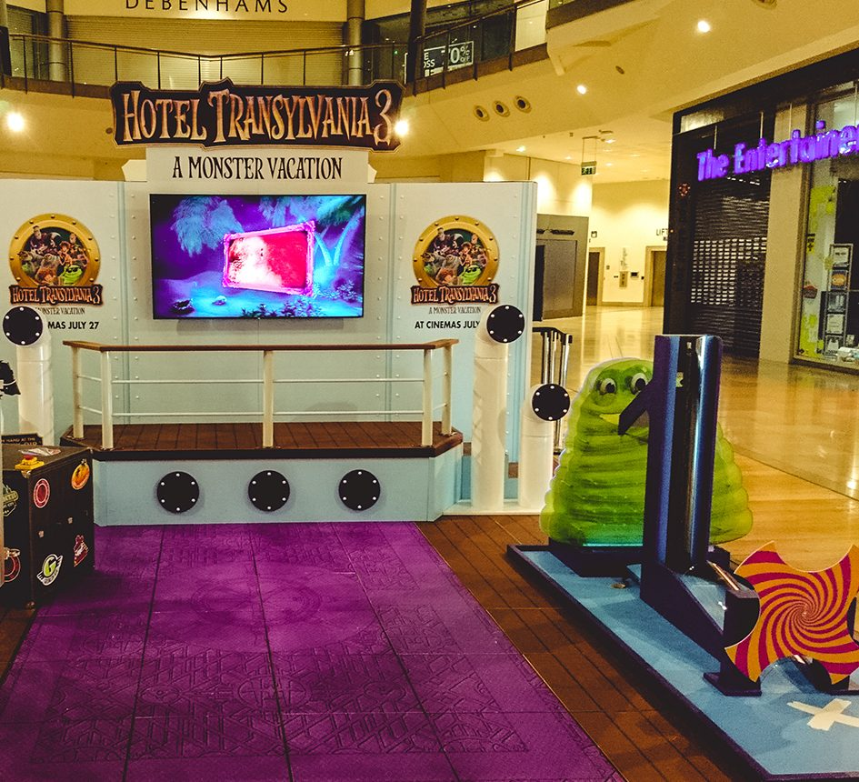 Sony Pictures Animation Hotel Transylvania 3 Experiential Live Events Agency Film Studio Marketing Advertising Lime Communications Sublime Promotions